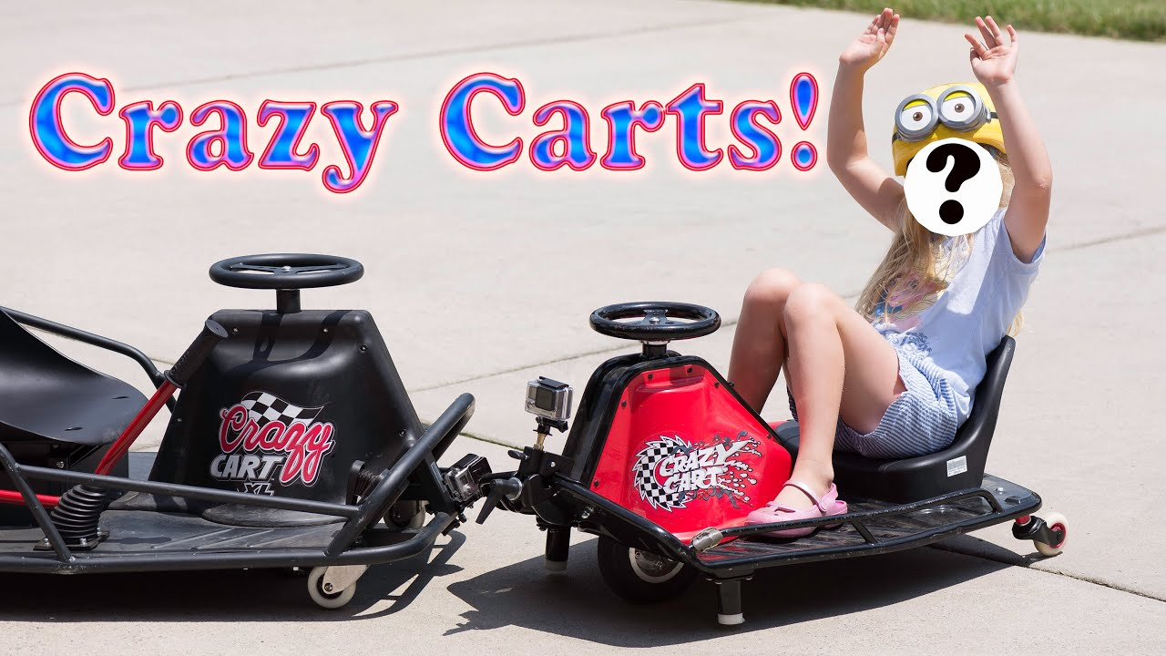 the razor crazy cart crazy cart xl theengineeringfamily kid toy video review youtube. Black Bedroom Furniture Sets. Home Design Ideas