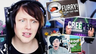 500.000 SUBSCRIBERS | Reacting to my most viewed Remixes!