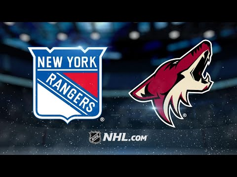 Lundqvist, Rangers knock off Coyotes in shootout, 2-1