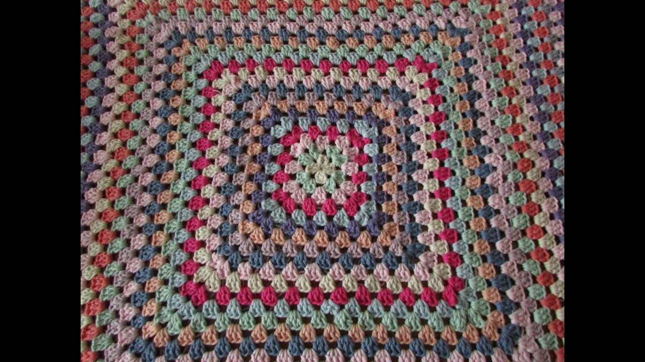 How To Crochet Granny Squares : crochet granny square blanket - never ending crochet granny square ...