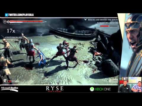 Ryse Son of Rome Developer Demo Part 1 Stream