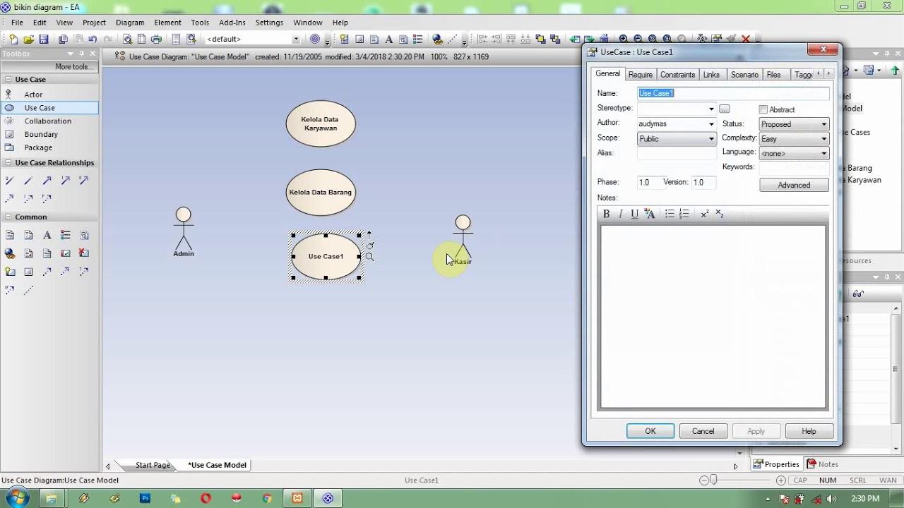 Cara bikin use case diagram dengan ea youtube cara bikin use case diagram dengan ea ccuart Images