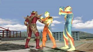 Video Ultraman Cosmos Future & Gaia Supreme TAG Team Mode ★Play ウルトラマン FE3 download MP3, 3GP, MP4, WEBM, AVI, FLV Juni 2018