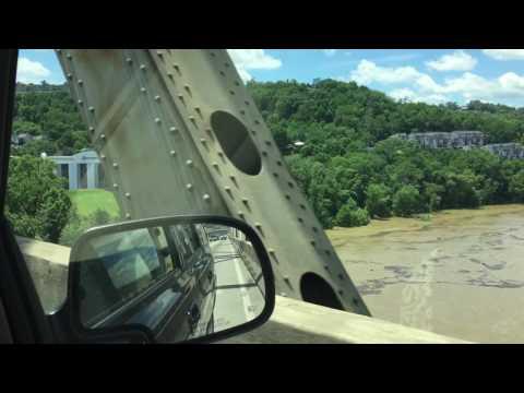 Brent Spence Bridge I75 Southbound Cincinnati