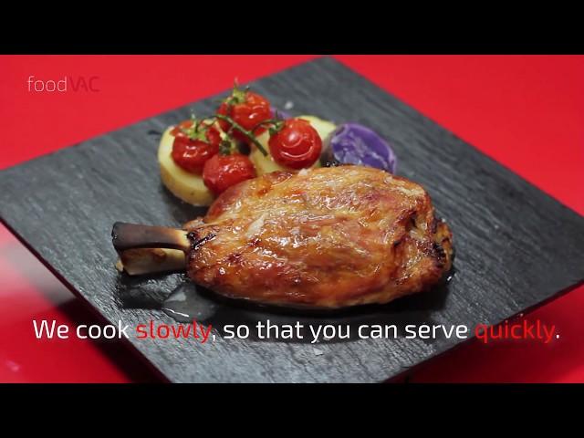 foodVAC Pork Knucle Regeneration