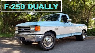 Garagem do Bellote TV: Ford F-250 Dually (460 V8, rodagem dupla)