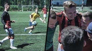 АМКАЛ против ПОДПИСЧИКОВ  играем РАЗНЫМИ МЯЧАМИ в реальном матче