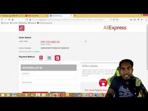 Pengalaman belanja di ALIEXPRESS (bayar di Alfamart).
