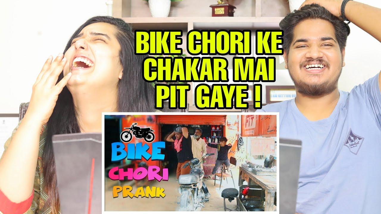 Indian Reaction On Bike Chori Prank | By Nadir Ali & Team  P 4 Pakao