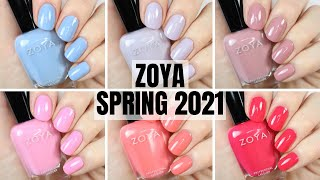 I love a new zoya collection! here is the darling collection from for spring 2021! what are your thoughts?!check out this here: (collection a...