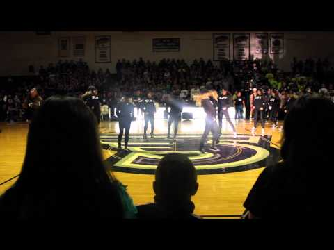 Stonehill College Dance Team Midnight Madness 2014
