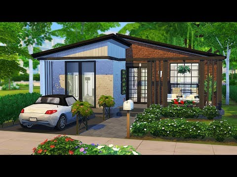PHOTOGRAPHER'S FIRST HOME 📸 | The Sims 4 | Speed Build