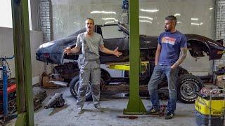 Восстановление Corvette C3. Начало положено. Рама.