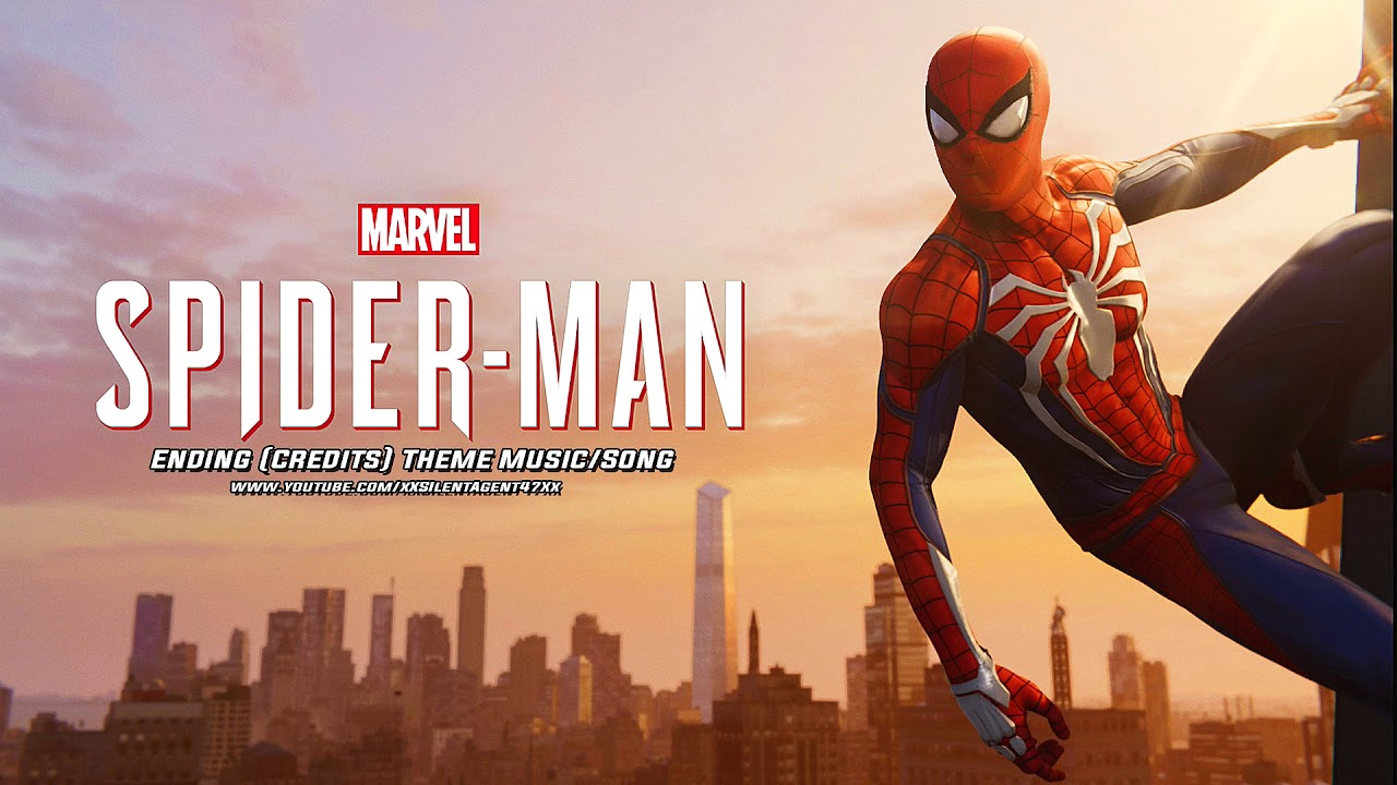 marvel's spider-man (ps4) - ending (credits) theme music/song 2
