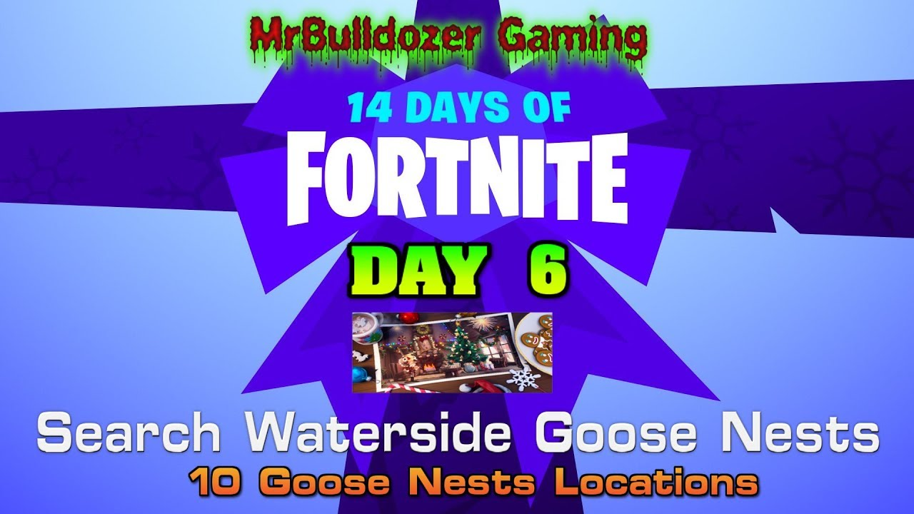 Fortnite Season 7 14 Days Of Fortnite Day 6 Search Waterside