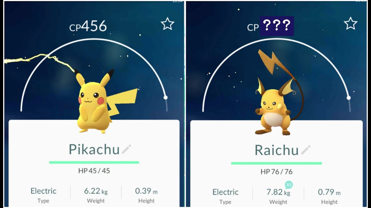 EPIC +1100 Raichu!! Pokemon Go Pikachu(456) Evolution ...