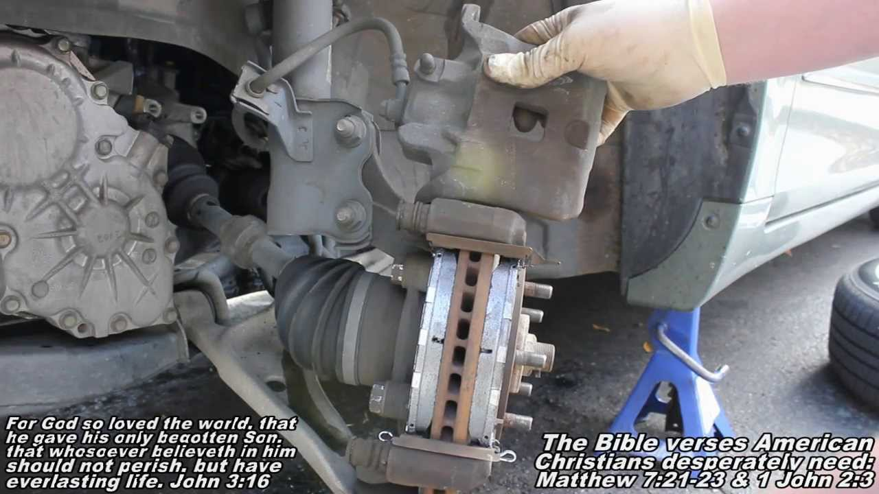 "Front Brake Pads & Rotors ""How to"" 02-06 Nissan Altima ..."