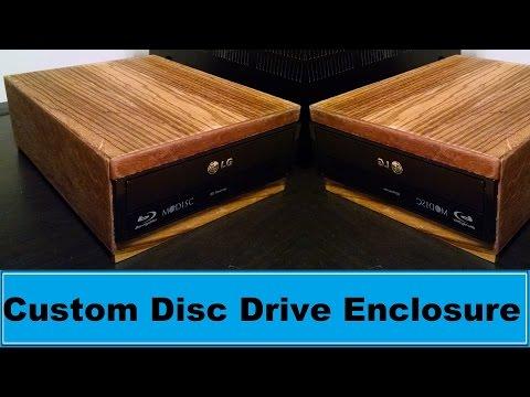 Custom Disc Drive Enclosure