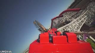 [2019] Incredicoaster - Back Seat POV @ California Adventure | HD POV | Wide Angle | Disneyland |