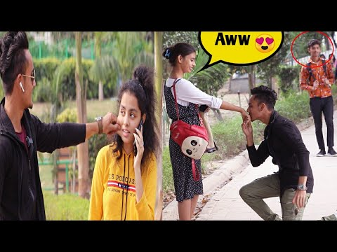 Kissing And Pulling Cheeks  || Asking Direction (Gone Flirting) || Sam K Official