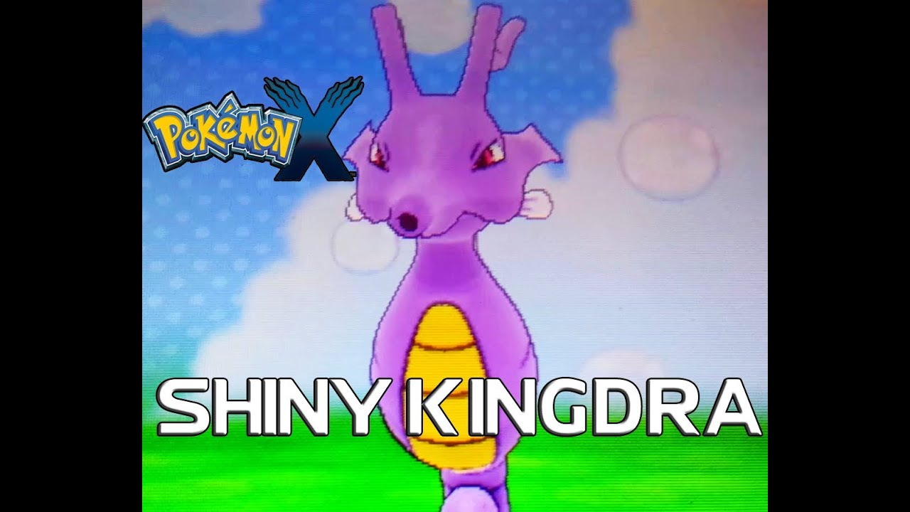 Shiny Kingdra X And Y