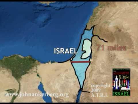 Israel's Land Mass