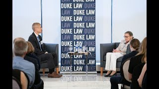 Justice Ruth Bader Ginsburg discusses the 2017-18 Supreme Court term