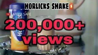 Moms special..HORLICKS SHAKE.. WITHOUT MILK..