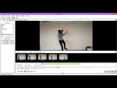Sports Motion Analysis using Kinovea