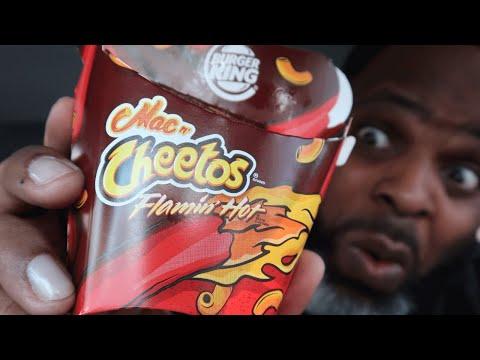Burger King Flamin' Hot Mac N Cheetos