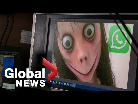 """MOMO Challenge"": Police asking parents to be vigilant of dangerous online fad"