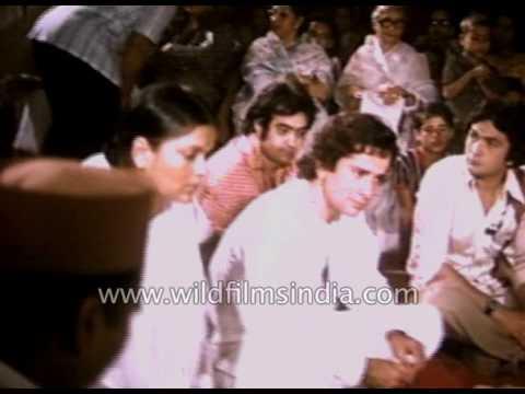 Muhurat of Bollywood film 'Satyam Shivam Sundaram' : rare Raj Kapoor footage