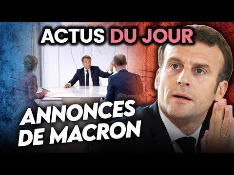 Annonces de Macron,