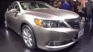 New video Acura RLX 2016, 2017 interior, exterior