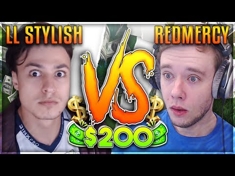 REDMERCY VS LL STYLISH TIME TO STYLE $200 1v1 SHOWDOWN  - League of Legends