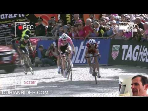 Giro Stage 14 2017 Big T Blows Em Away!