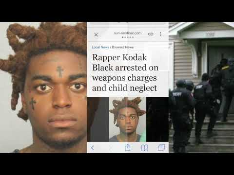 Kodak Black ARRESTED After His House Is RAIDED ON IG LIVE?!?!