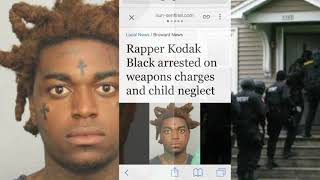 Kodak Black ARRESTED After His House Is RAIDED ON