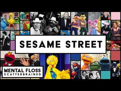 The Surprising Stories of Sesame Street - Mental Floss Scatterbrained