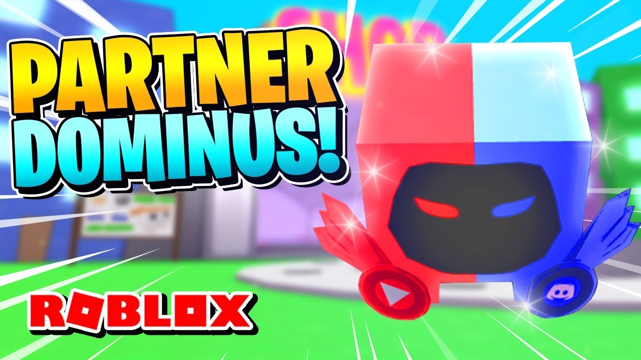 ROBLOX PET SIMULATOR [Codes & Glitch] - HOW TO GET THE PARTNER DOMINUS PET  *Exclusive*