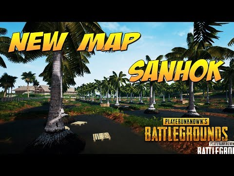 NEW MAPS SANHOK, PLAYERUNKNOWN'S BATTLEGROUNDS