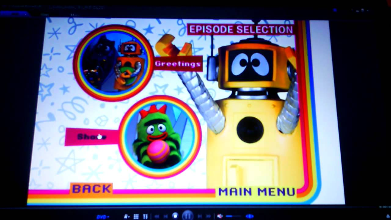 Yo Gabba Gabba New Friends Menu Walkthrough Youtube