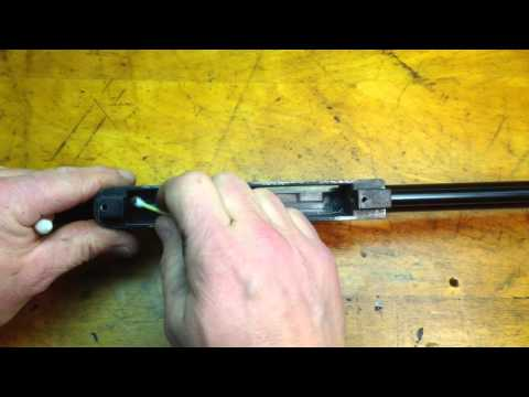 Taking apart and cleaning the Marlin model 60