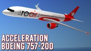 ROBLOX | Acceleration - First Look | 757-200 Flight | #1
