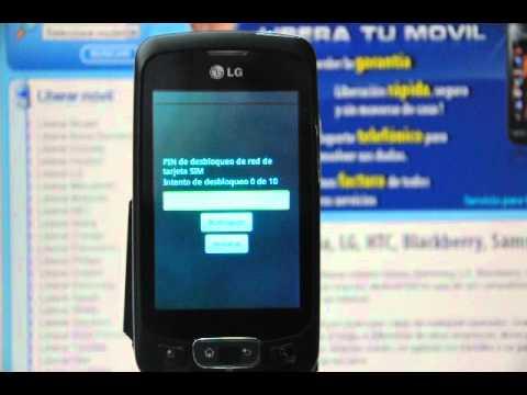 Liberar LG P500 Optimus One, desbloquear LG P500 Optimus One de Movistar - Movical.Net