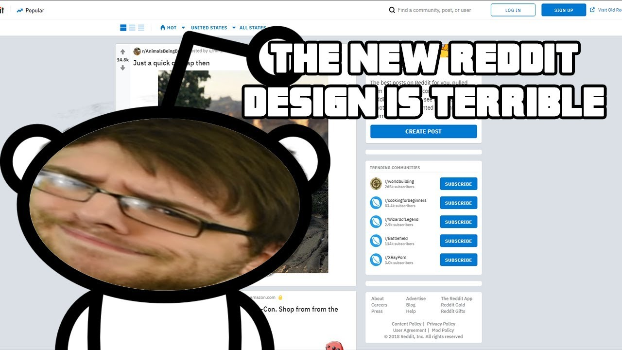 Reddit's New Design is Built to Kill Traffic to Websites