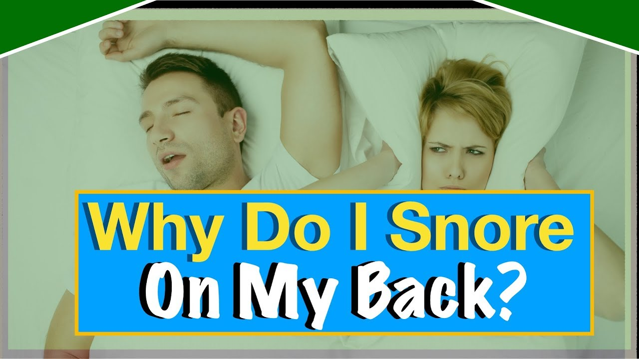 what makes you snore all of a sudden