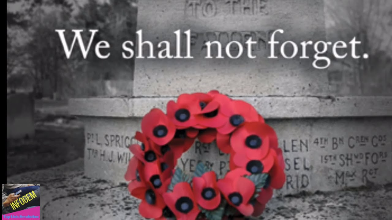 Remembrance day facts youtube remembrance day facts mightylinksfo