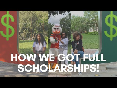 HOW WE GOT FULL SCHOLARSHIPS!!! // STATS, GPA, APPLICATION TIPS & MORE