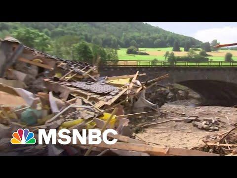 Angela Merkel Tours German Flood Damage, Pledges Aid